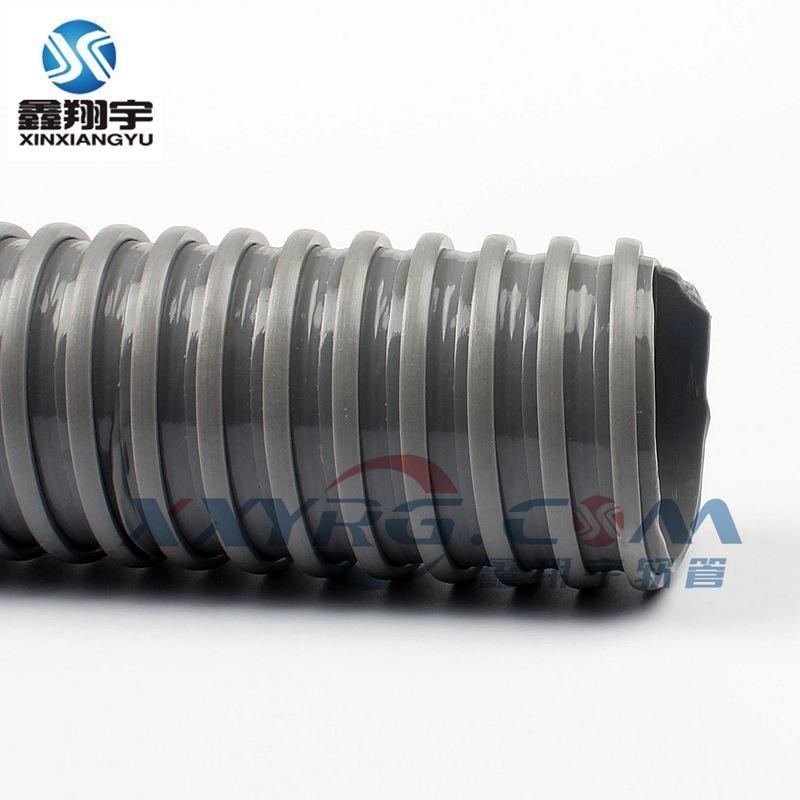 鑫翔宇PVC方筋螺旋增强软管, 风琴管, 工业吸尘管