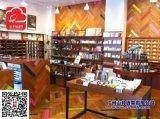 文具书店展示柜,书店木质展柜,韩国风格书店货架