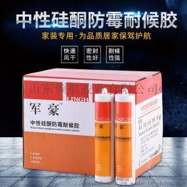 中性硅酮玻璃胶防霉玻璃胶耐候胶玻璃胶
