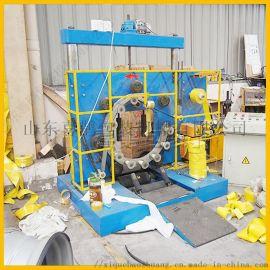 山东喜鹊HT-300铁丝钢丝缠绕膜包装机