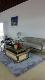来图定制 简约时尚 KTV彩色不锈钢吧台 不锈钢茶几