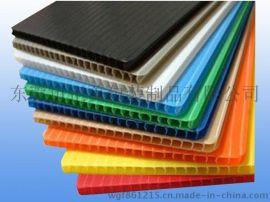 长期供应各色中空板 现货**防静电中空板 高质量塑料瓦楞板