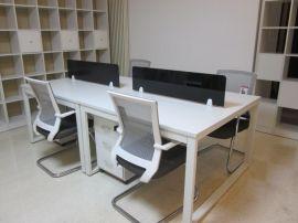 厂家专业订做现代简约办公桌 员工组合办公桌 4人组合办公桌