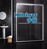 LR-017 豪华 卫生间玻璃隔断 双活门 3.0铝合金型材 淋浴门