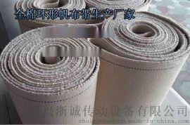 饼干成型输送带/全棉帆布输送带/食品级输送带