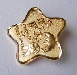 南宁金属烤漆徽章制作,南宁金属徽章制作厂家