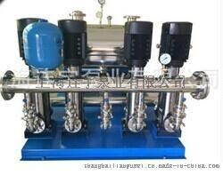 厂家定做耐腐蚀高效变频给水设备 不阻塞成套高效变频给水设备