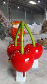 质量好玻璃钢水果雕塑工艺品 植物装饰雕塑摆件
