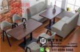 天津卡座沙发桌椅组合 天津餐饮卡座沙发 天津卡座生产厂家