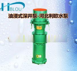 QY立式油浸式潜水深井泵QY10-54/3-3充油多级潜水泵不锈钢深井泵立式抽水泵