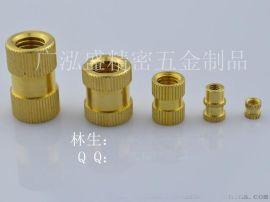 供东莞M4铜螺母M4注塑螺母五金生产工厂