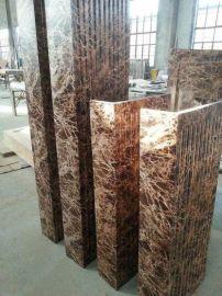 东莞人造石材仿砂岩定做安装,仿石材效果仿石栏杆,砂岩饰材产品艺术浮雕