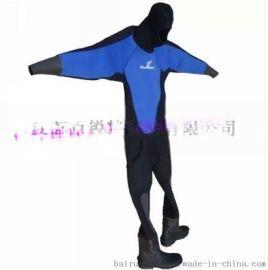 新款6mm\8mm长袖全干式潜水服包邮 全干式潜水衣 防寒服 潜水干式服 保暖服