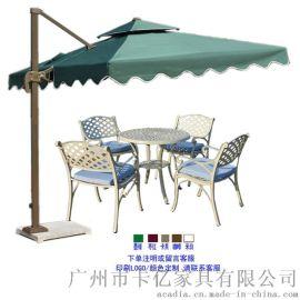 新款手摇罗马伞 铝合金侧边伞 户外遮阳伞(KY-U6126)