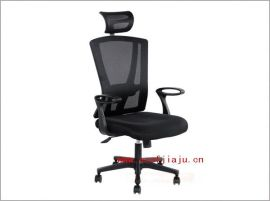 深圳家具黑  布经理大班椅
