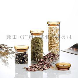 邦田玻璃茶叶罐储物罐C05