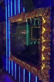 和业厂家玻璃钢定制KTV电视框玻璃钢装饰电视框