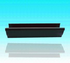 沃德5寸u型双壁成品檐槽落水系统