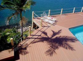 厂家**WPC塑木地板,生态木园林景观户外地板,