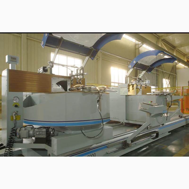 工業鋁型材雙頭切割鋸 鋁工業型材切割機
