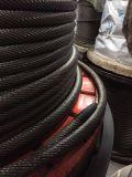 **不旋转钢丝绳18*7 10mm 防扭防旋转钢丝绳  光面涂油