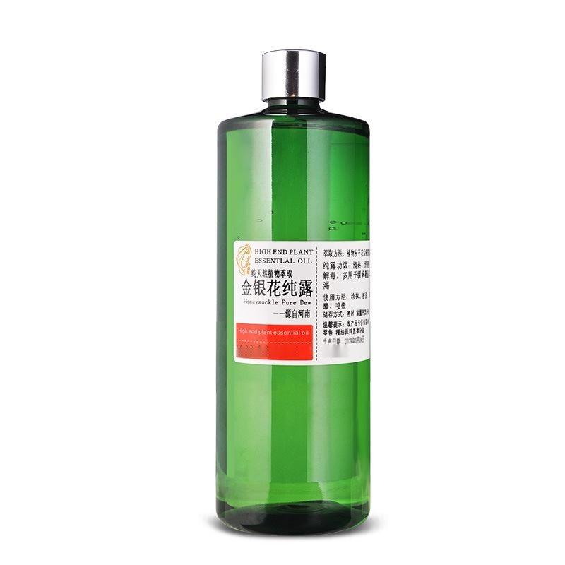 蓴楿園 蒸餾金銀花純露 補水 舒緩 調/痘豆泡面膜 爽膚水500ml