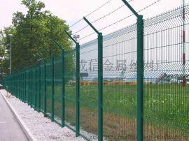 专业生产/三角折弯护栏网 /防护网