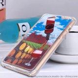 厂家直销iphone6手机壳 红酒流动手机保护套 苹果手机套 一件代发