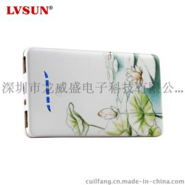 LVSUN龙威盛高容量双USB 5V2A聚合物移动电源_智能手机平板电脑充电宝