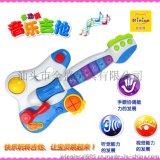 廠家直銷 妮妮雅N6059 燈光音樂吉它  多功能吉他