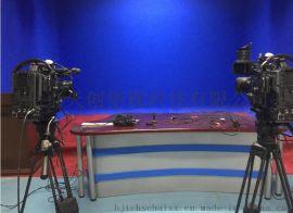 校园4k虚拟演播室整体方案 校园电视台厂家建设