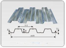 YX51-342-1025型开口式钢承板