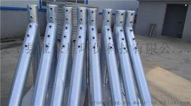 高速公路护栏厂家、公路防撞缆索护栏、柔性五索钢丝绳护栏