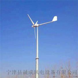5千瓦风力发电机低转速小型家用风光互补发电系统