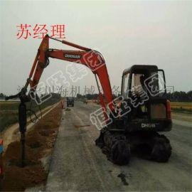 挖掘机改装的螺旋钻机 出厂价销售