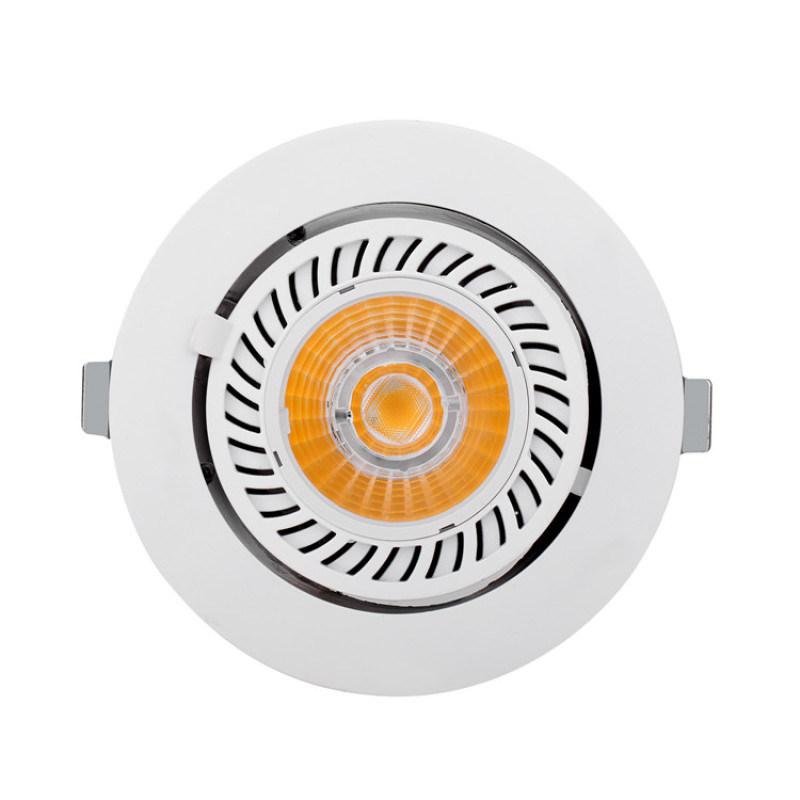 LED嵌入式万向天花灯 欧司朗灯珠装饰灯厂家