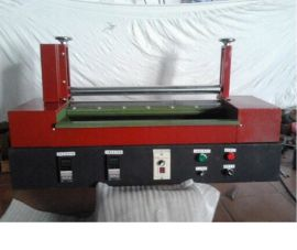 久宏600型自动滚轮热熔胶机