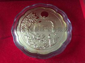 北京广告赠送白银月饼贺节礼品订购批发厂商 中秋节纯银999月饼