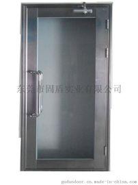 贵州不锈钢防火玻璃门厂批发代理 贵州单开大玻璃黑钛甲级不锈钢防火玻璃门