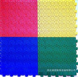 四川軟墊彈性拼裝地板廠家負責施工