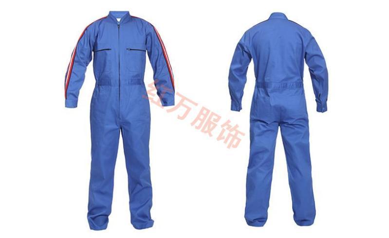 上海红万服饰定制长袖工作服 短袖工作服