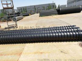 HDPE缠绕增强管B型管排污系统中的精锐