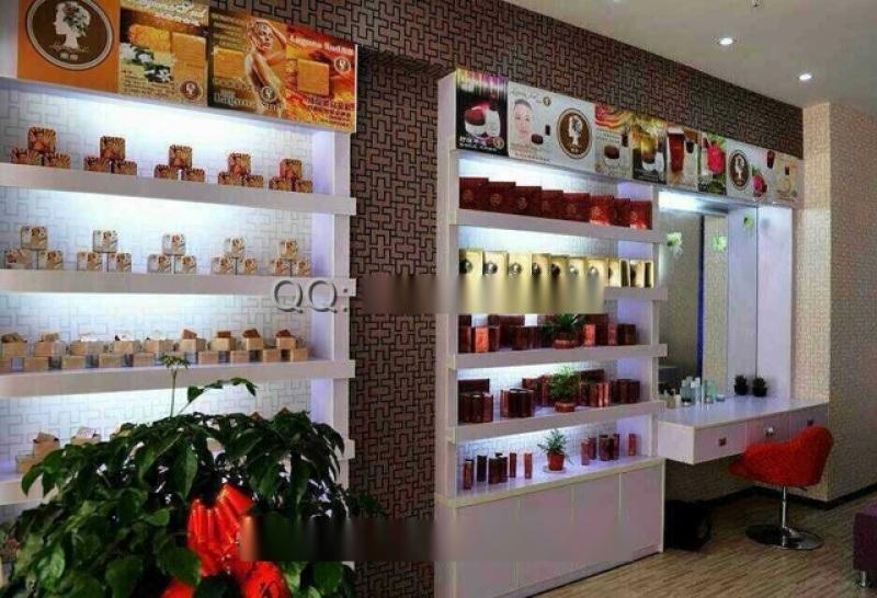 南娜化妆品展示柜制作厂家,深圳化妆品展柜设计公司