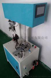 东莞坚端JD-jr08电线电缆编织绳带自动绕线扎线机