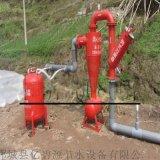 滴灌工程專用組合烤漆過濾器 離心過濾器+網式過濾器