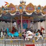 公园大型游乐设备色彩亮丽豪华转马商丘童星有限公司