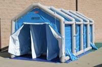 邦麦尔公众洗消帐篷