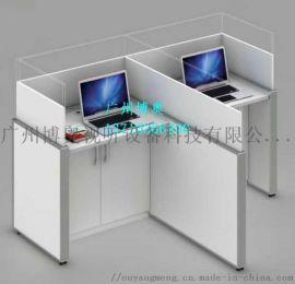 屏风升降考试桌  屏风升降电脑桌