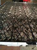 银川不锈钢黑钛屏风厂家 不锈钢玫瑰金拉丝屏风厂家