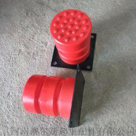 起重机聚氨酯缓冲器  红色橡胶缓冲块